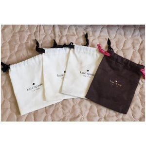 Bundle of 4 Kate Spade Dust Bags